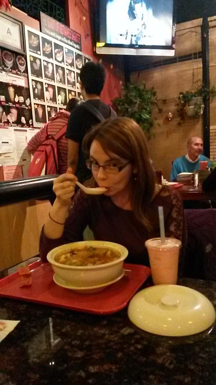 Sarah's huge Vietnamese