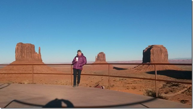 monument valley and tea